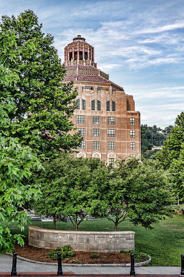 Asheville City Hall by Sharon Popek