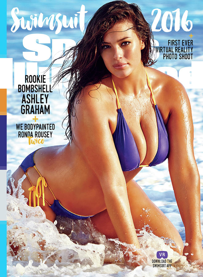 Ashley Graham Swimsuit 2016 Sports Illustrated Cover Photograph by Sports Illustrated