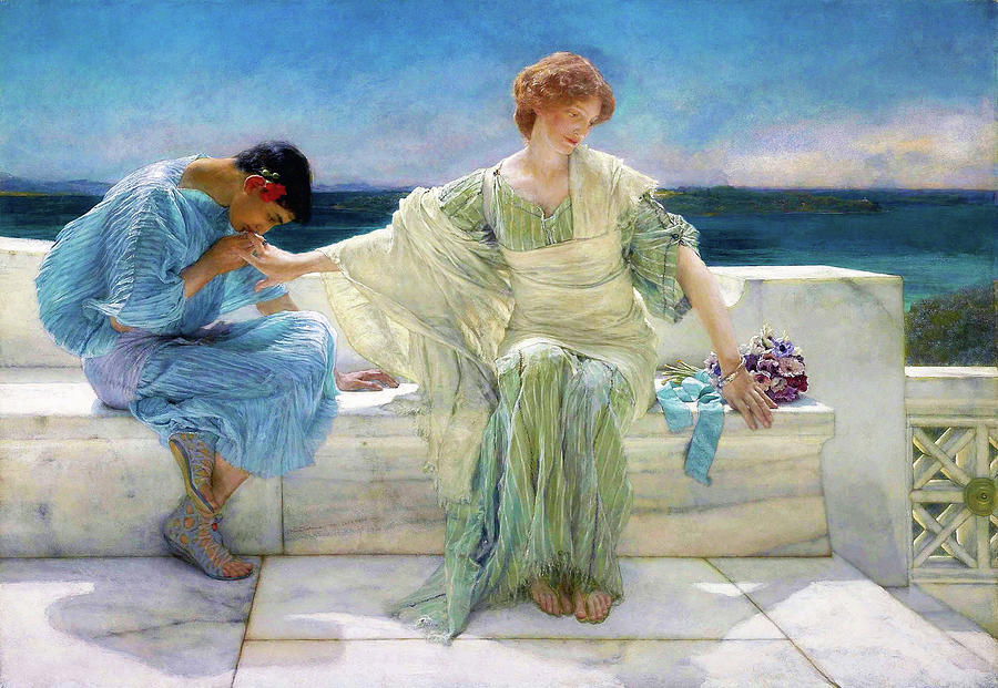 Ask Me No More - Digital Remastered Edition by Lawrence Alma-Tadema