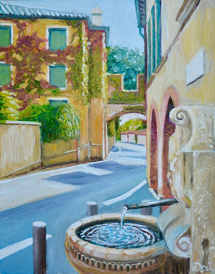 Asolo Fountain by Dai Wynn