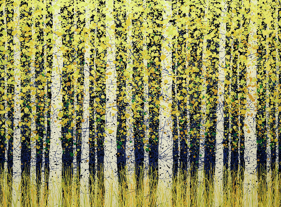 Aspen Peace Painting By Daniel Lager