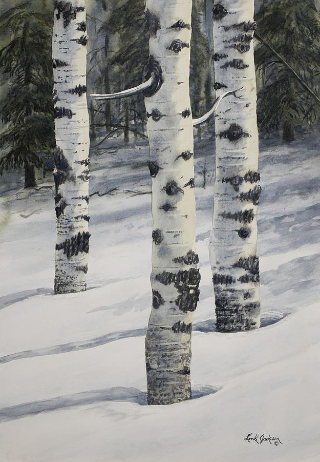 Aspen Trio Winter by Link Jackson