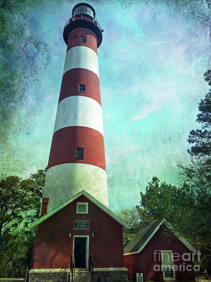 Assateague Lighthouse  by Kerri Farley