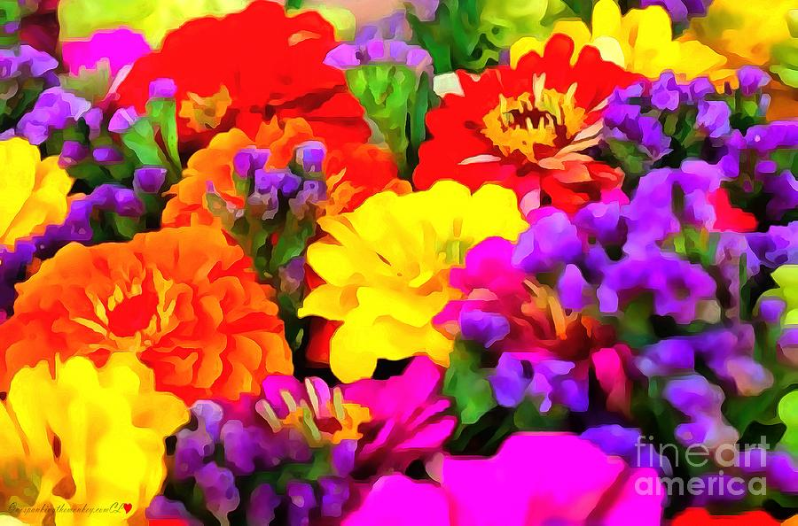 Assorted Florals by Catherine Lott