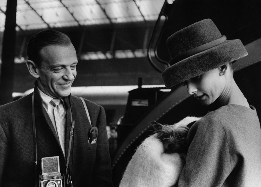 Astaire And Hepburn Photograph by Bert Hardy