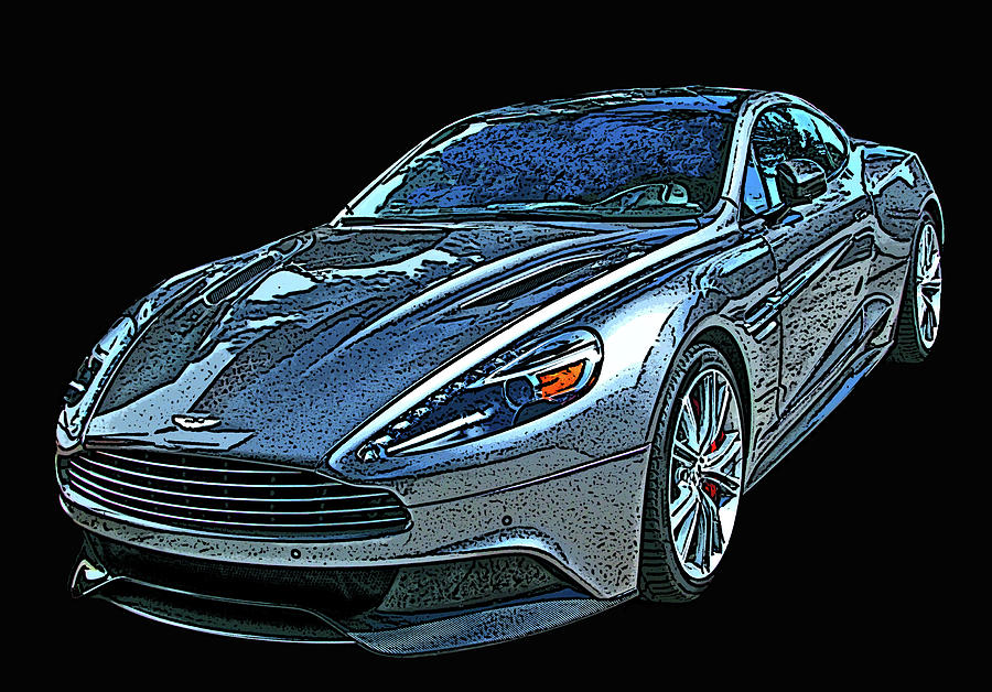 Aston Martin DB9 by Samuel Sheats