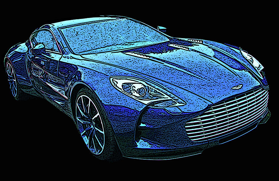 Aston Martin One 77 by Samuel Sheats