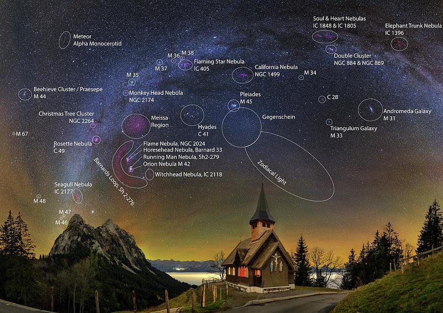 Astrophotography Winter Wonderland by Ralf Rohner
