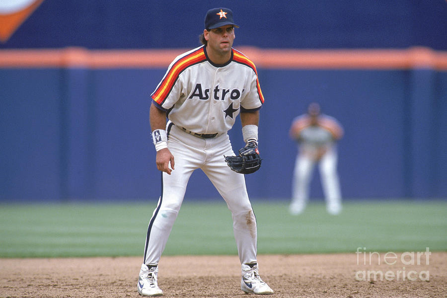 Astros V Padres Photograph by Stephen Dunn