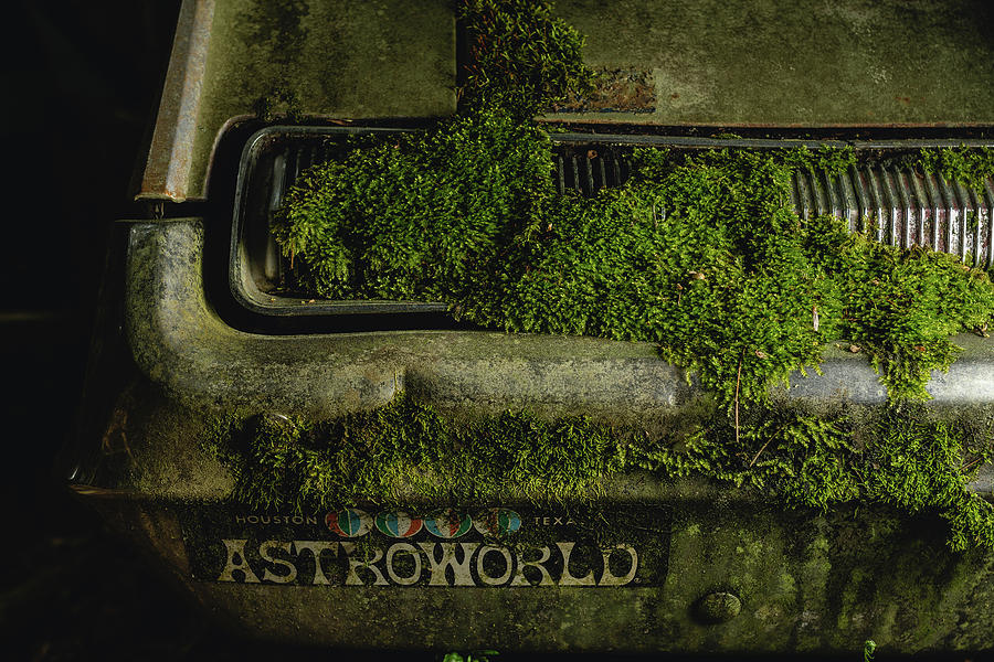 Rust Photograph - Astroworld by 8th Mile Photography