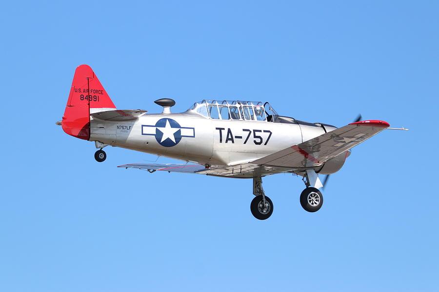 AT-6  Texan by Karen Silvestri