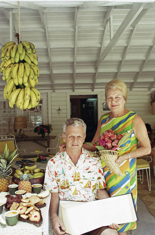 At Home In The Bahamas Photograph by Slim Aarons