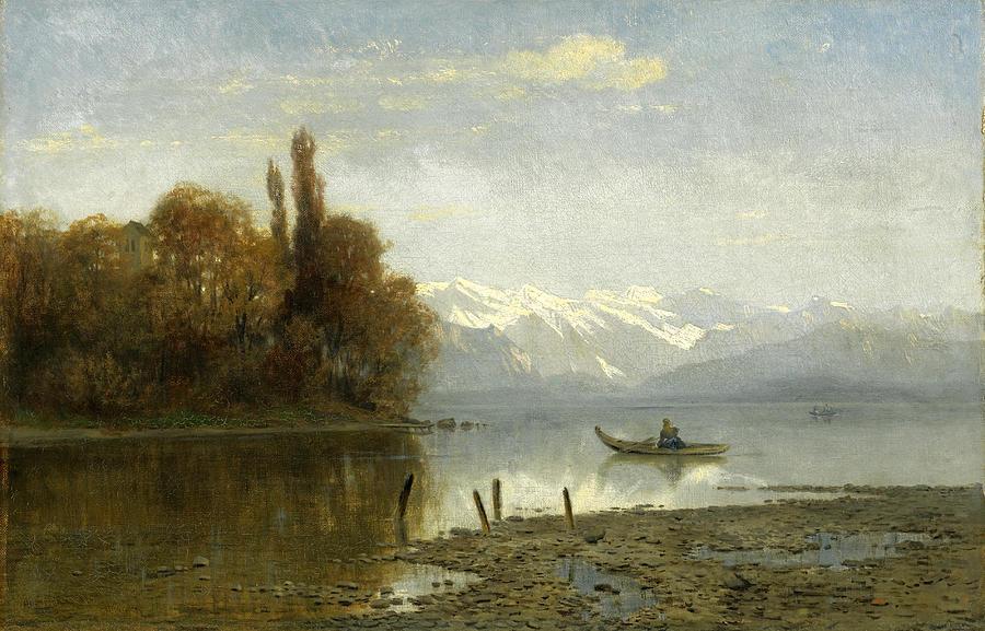 At Lake Starnberg by Arnold Steffan