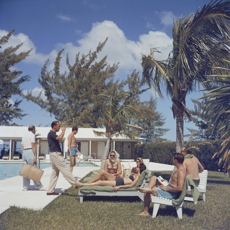 At Lyford Cay Photograph by Slim Aarons