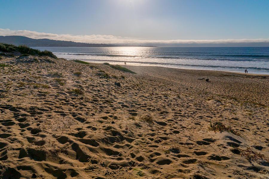At the Beach by Derek Dean