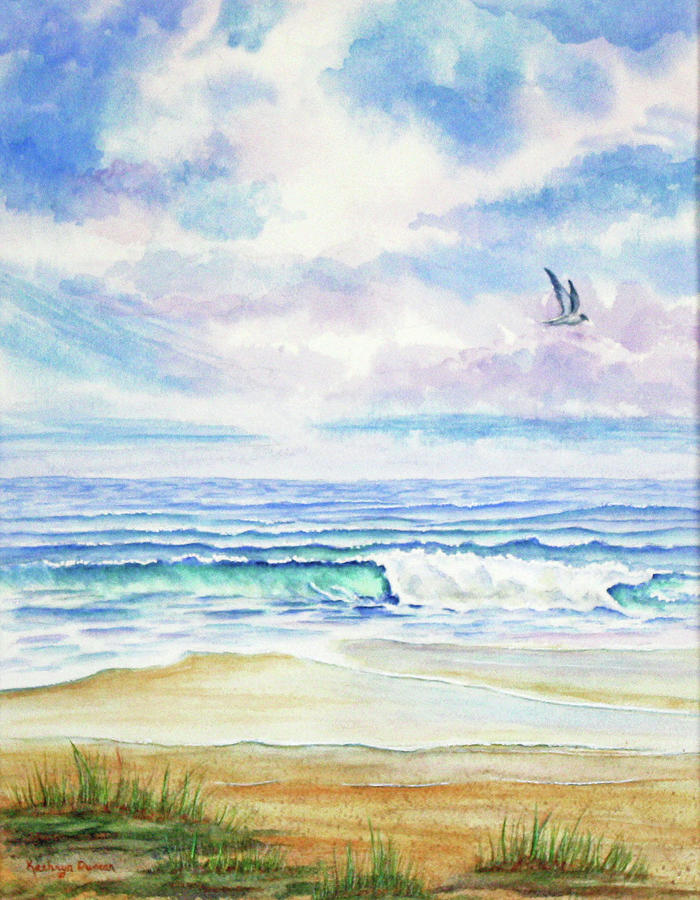 At The Beach by Kathryn Duncan