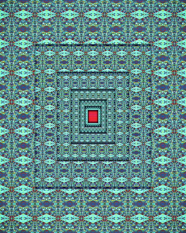 At the Button of the Ocean Digital Art by Jack Entropy