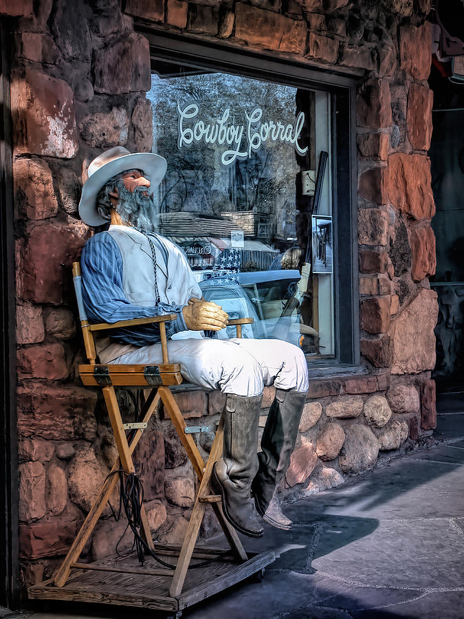 At the Cowboy Corral by PAUL COCO
