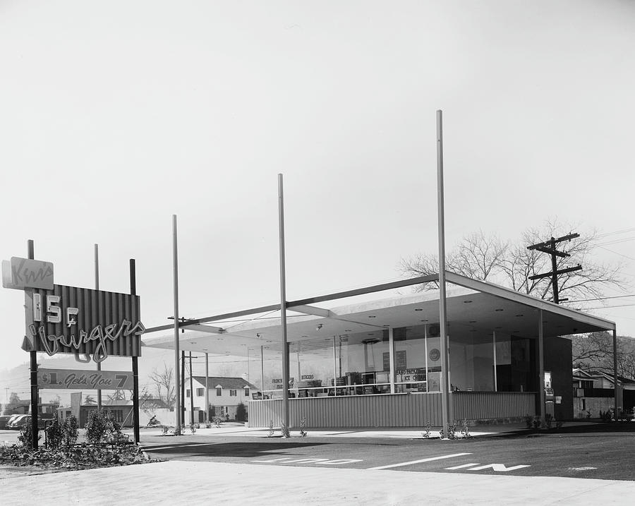At The Drive-through Photograph by American Stock Archive