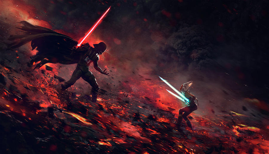 Star Wars Digital Art - At The End Of All Things by Guillem H Pongiluppi