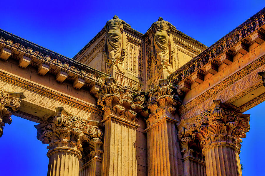 Palace Of Fine Arts Photograph - At The Fine Art Palace by Garry Gay