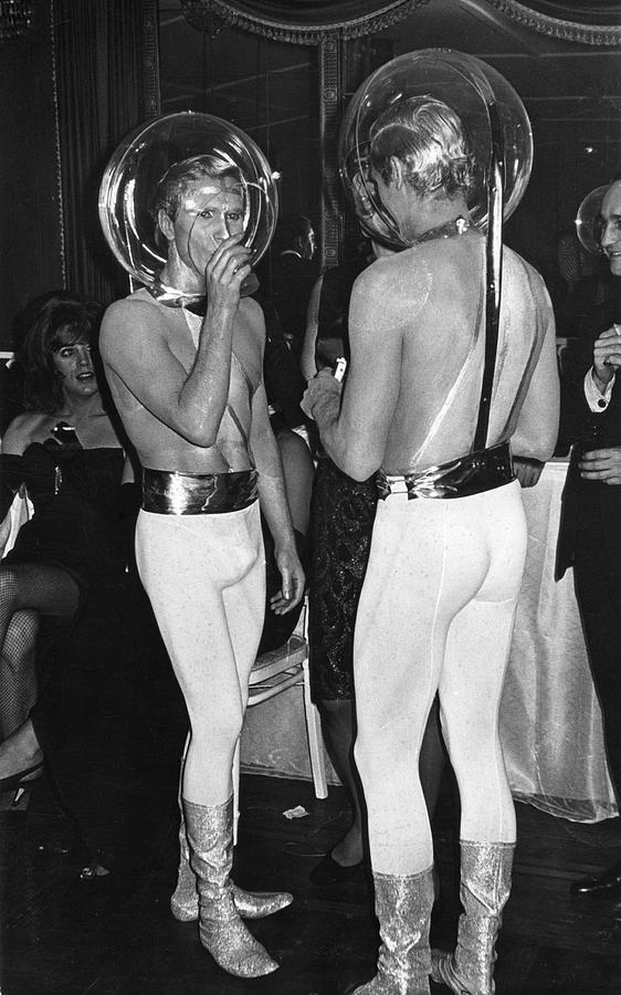 At The Mattachine Society Ball Photograph by Fred W. McDarrah