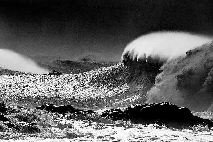 At The Ready - BW by Sean Davey