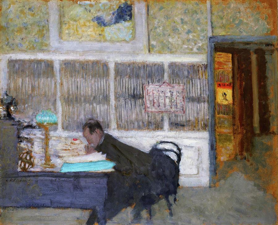 Edouard Vuillard Painting - At The Revue Blanche - Digital Remastered Edition by Edouard Vuillard