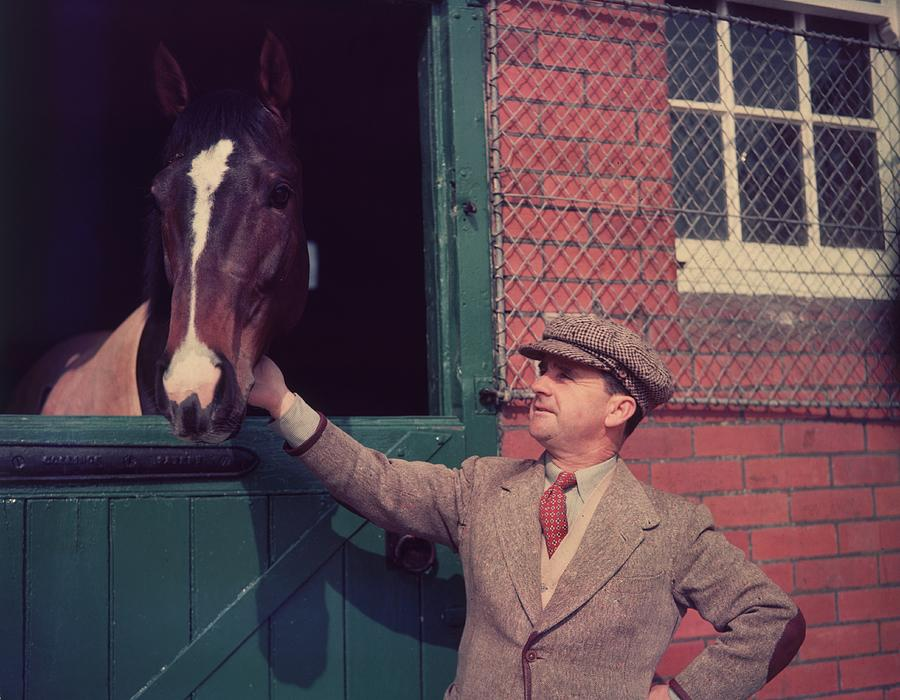 At The Stables Photograph by Hulton Archive