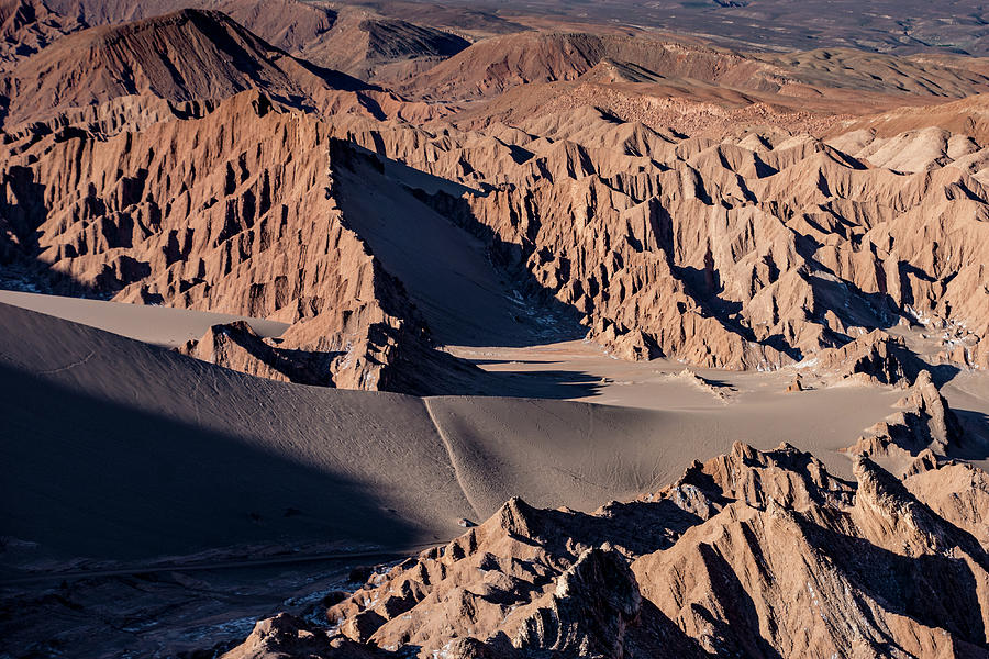 Atacama Pinnacles in Evening Light by Mark Hunter
