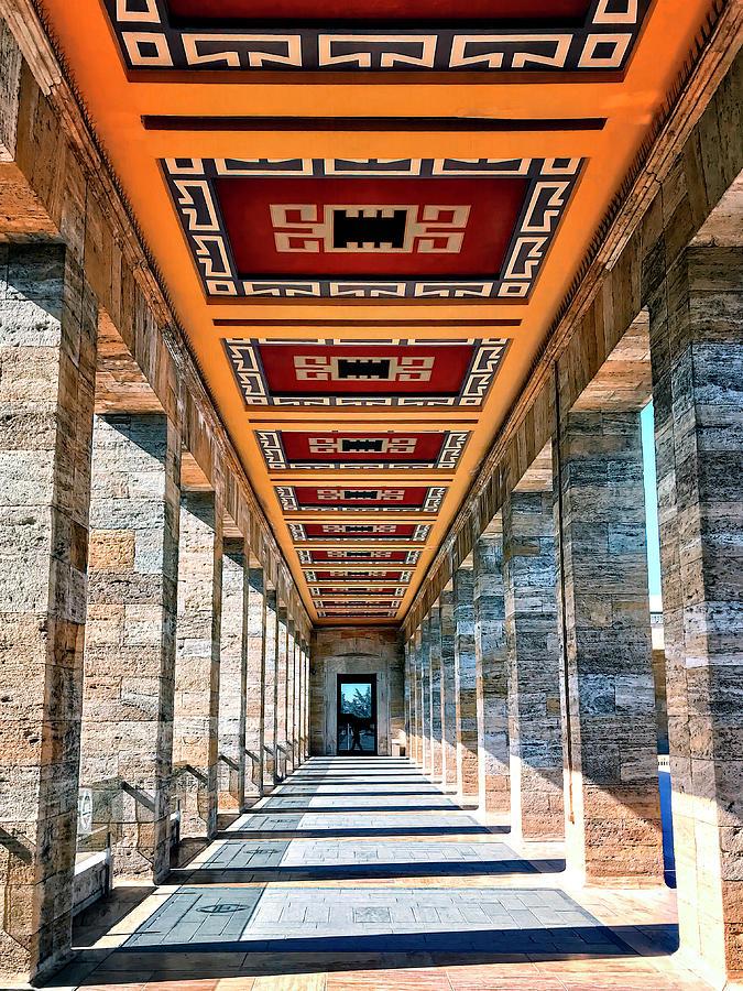 Ataturk Mausoleum by Maria Coulson