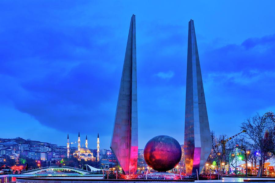 Ataturk monument by Fabrizio Troiani