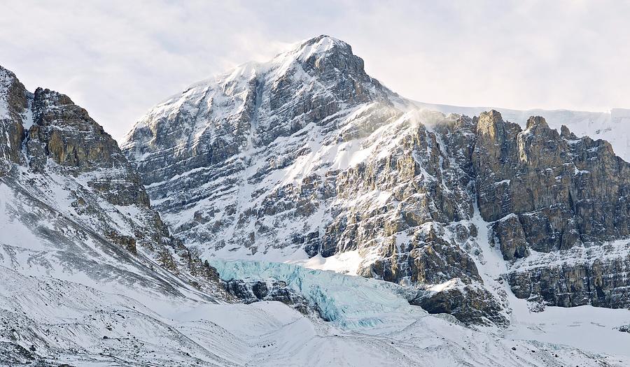 Athabasca Glacier Photograph by Dominik Eckelt