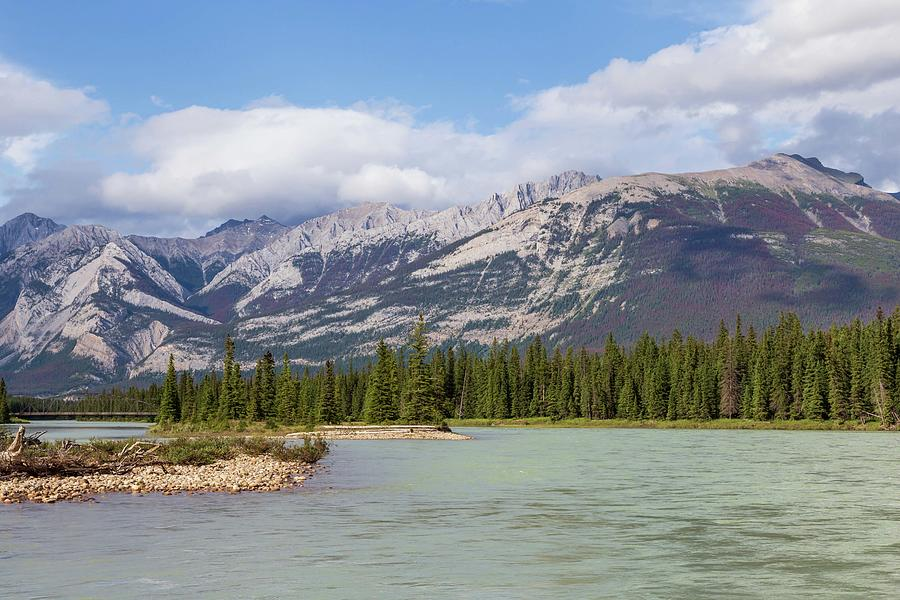 Athabasca River by Paul Schultz