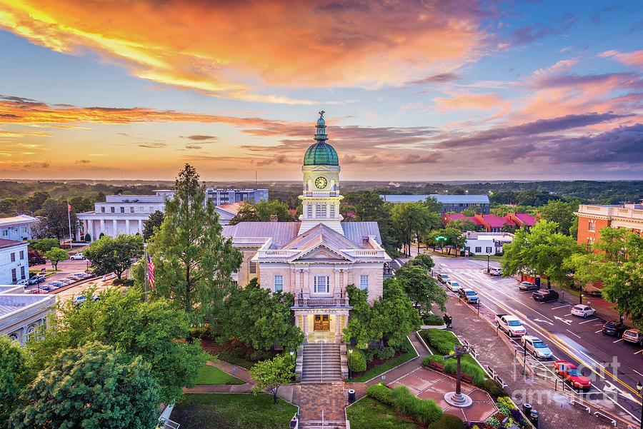 Athens, Georgia, Usa City Hall Photograph by Sean Pavone