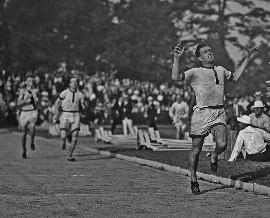 Athlete Bevil Rudd Photograph by Paul Thompson/fpg