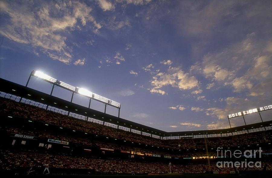 Athletics V Orioles Photograph by Doug Pensinger