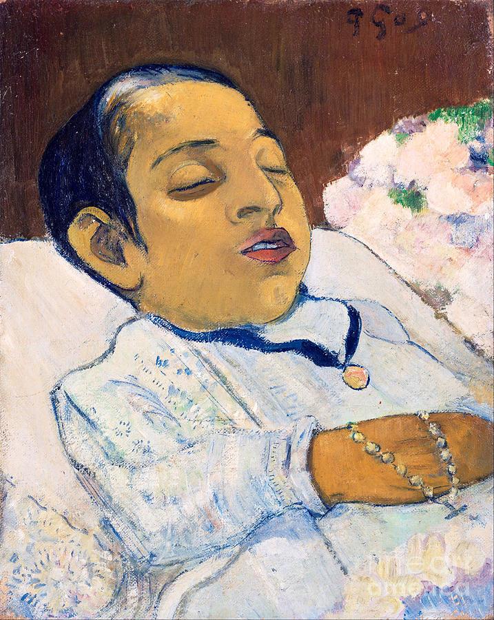 Atiti. Artist Gauguin, Paul Eugéne Drawing by Heritage Images