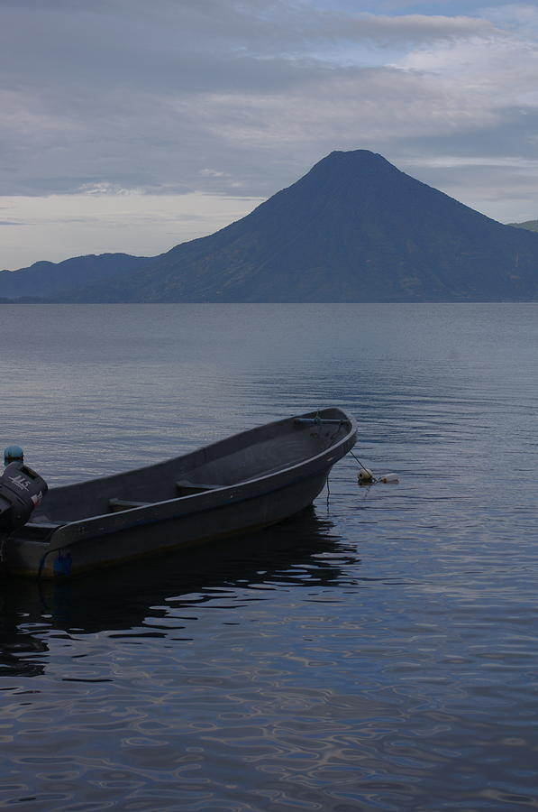 Atitlan At Dusk by Adam Reinhart