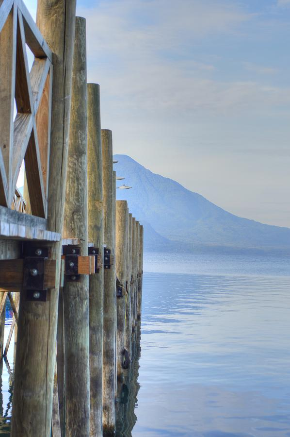 Atitlan Pier by Bill Hamilton