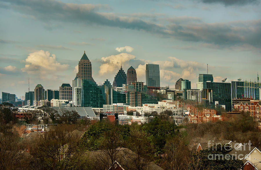 Atlanta at Sunrise by Mae Wertz