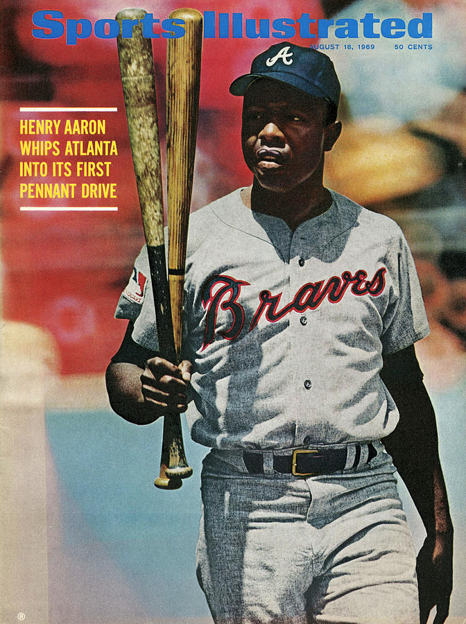 Atlanta Braves Hank Aaron... Sports Illustrated Cover Photograph by Sports Illustrated