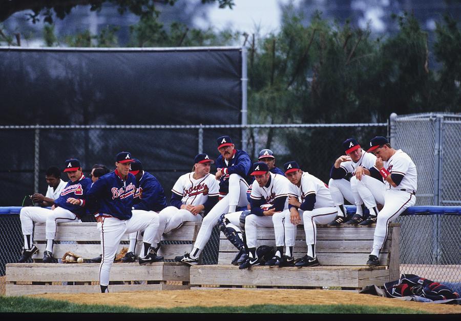 Atlanta Braves Photograph by Ronald C. Modra/sports Imagery