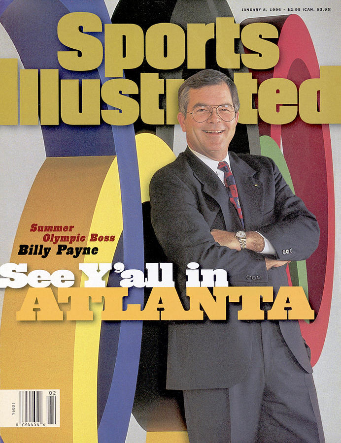 Atlanta Committee For Olympic Games Ceo Billy Payne Sports Illustrated Cover Photograph by Sports Illustrated