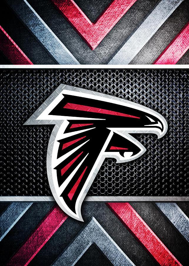 Atlanta Falcons Logo Art Digital Art By William Ng