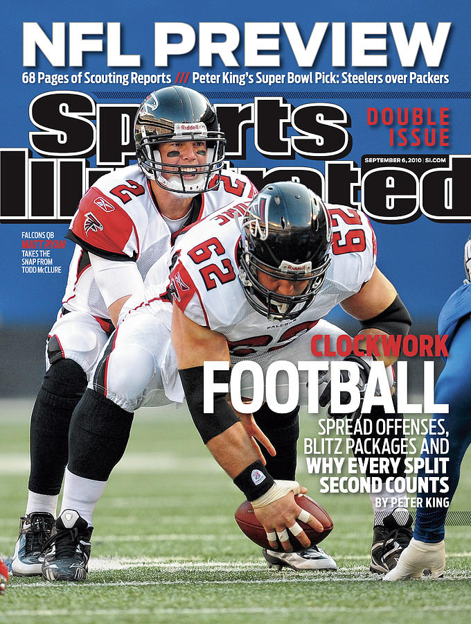 Atlanta Falcons V New York Giants Sports Illustrated Cover Photograph by Sports Illustrated