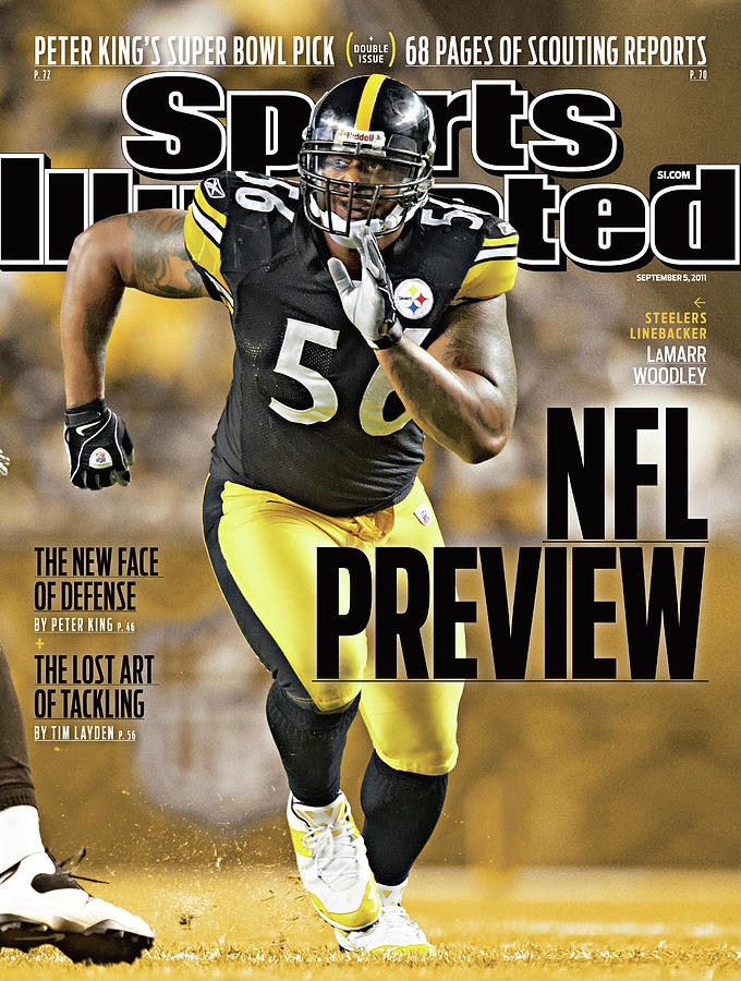 Atlanta Falcons V Pittsburgh Steelers Sports Illustrated Cover Photograph by Sports Illustrated