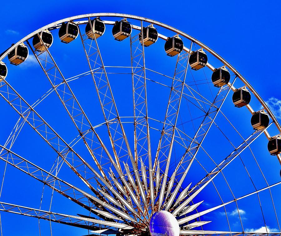 Atlanta Ferris Wheel by Eileen Brymer