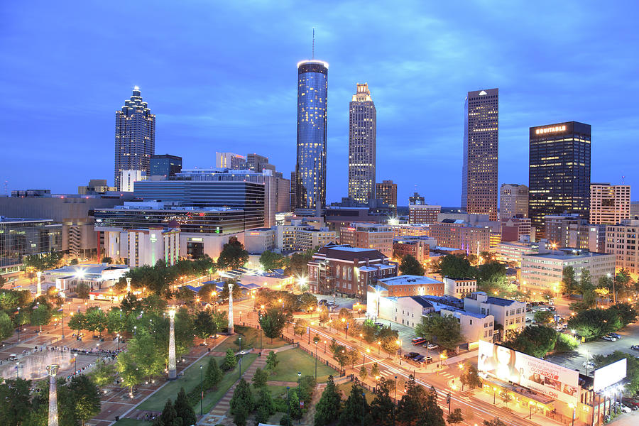Atlanta, Georgia Photograph by Jumper