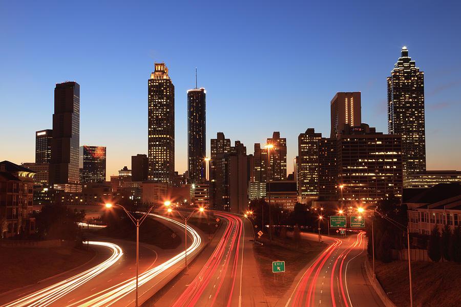 Atlanta, Georgia Photograph by Veni